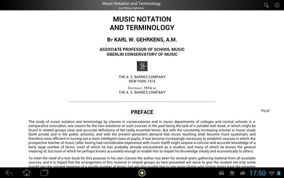 Music Notation and Terminology apk screenshot