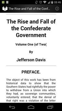 The Confederate Government 1 poster