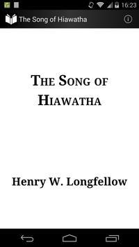 The Song of Hiawatha poster