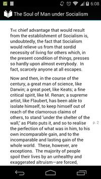 Soul of Man under Socialism apk screenshot