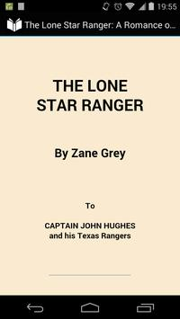 The Lone Star Ranger poster