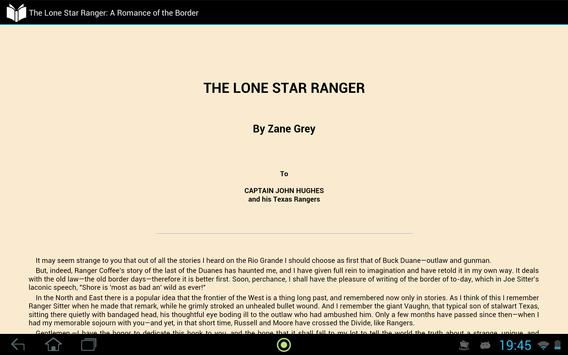 The Lone Star Ranger apk screenshot