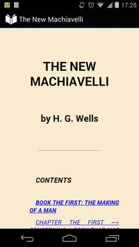The New Machiavelli poster