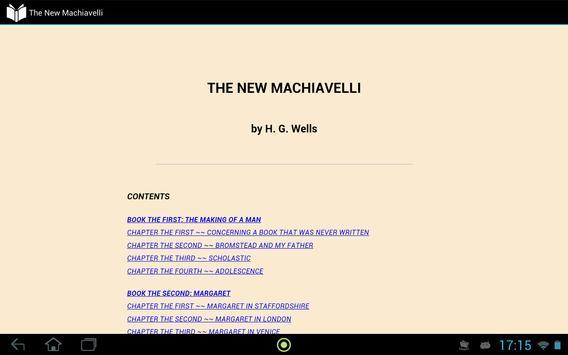 The New Machiavelli apk screenshot