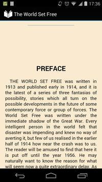 The World Set Free apk screenshot