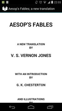 Aesop's Fables new translation poster