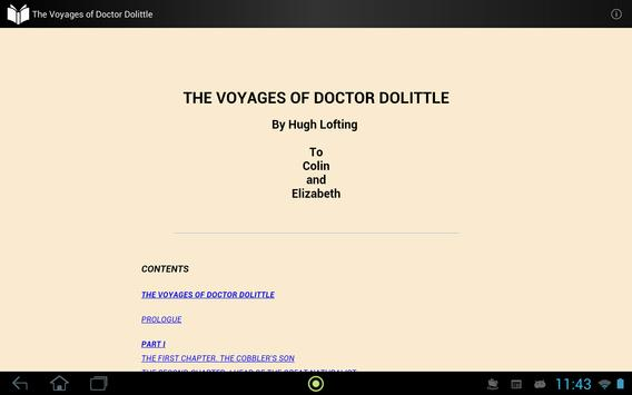 The Voyages of Doctor Dolittle apk screenshot