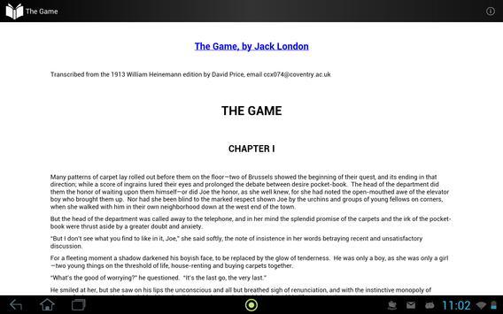The Game apk screenshot
