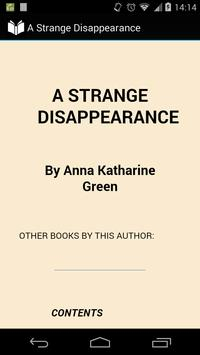 A Strange Disappearance poster