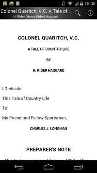 Colonel Quaritch, V.C. poster