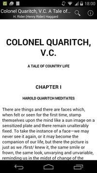 Colonel Quaritch, V.C. apk screenshot