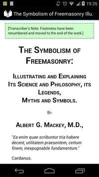 The Symbolism of Freemasonry poster