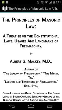 The Principles of Masonic Law poster
