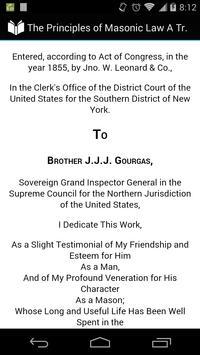 The Principles of Masonic Law apk screenshot