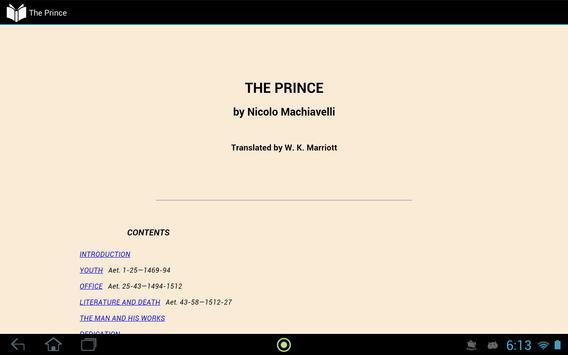 The Prince apk screenshot