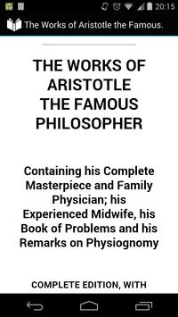 The Works of Aristotle poster