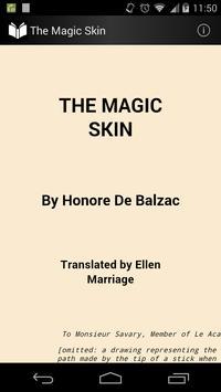 The Magic Skin poster