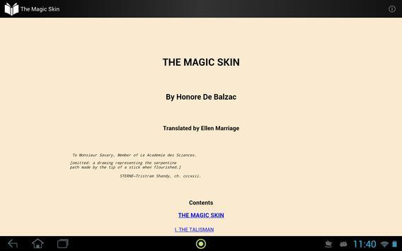 The Magic Skin apk screenshot