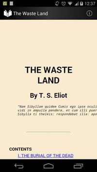 The Waste Land poster