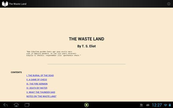 The Waste Land apk screenshot