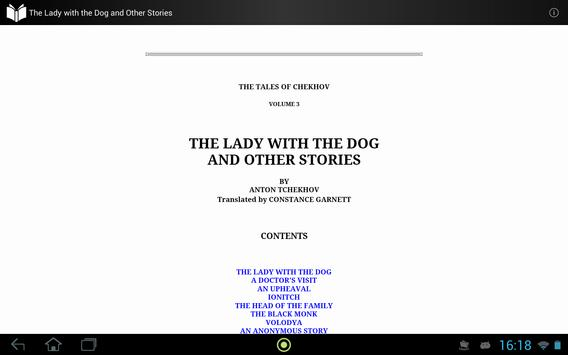 The Lady with the Dog apk screenshot