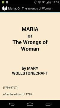 Maria: the Wrongs of Woman poster