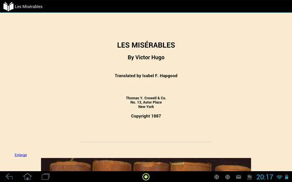 Les Misérables apk screenshot