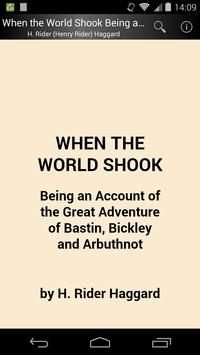 When the World Shook poster