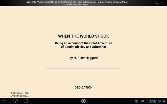 When the World Shook apk screenshot