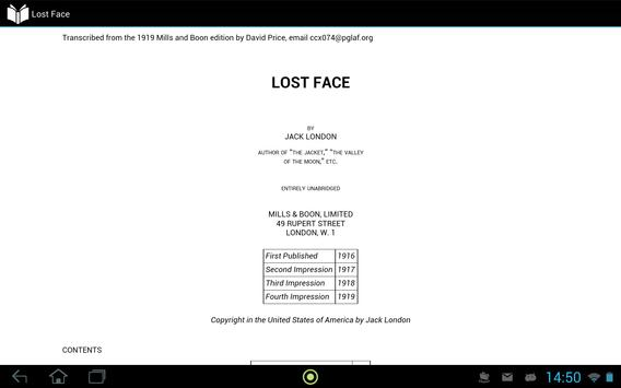 Lost Face apk screenshot