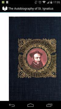 Autobiography of St. Ignatius poster