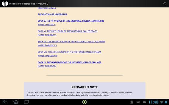 The History of Herodotus 2 apk screenshot
