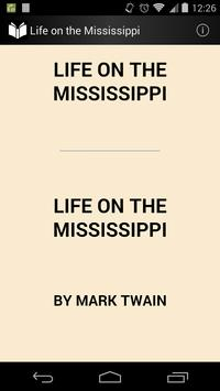 Life on the Mississippi poster