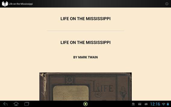 Life on the Mississippi apk screenshot