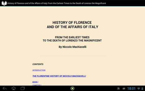 History of Florence apk screenshot