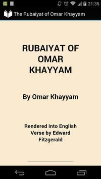The Rubaiyat of Omar Khayyam poster