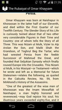 The Rubaiyat of Omar Khayyam apk screenshot