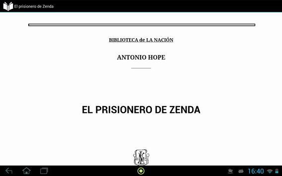 El prisionero de Zenda apk screenshot
