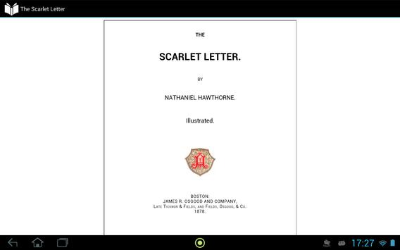 The Scarlet Letter apk screenshot