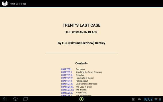 Trent's Last Case apk screenshot