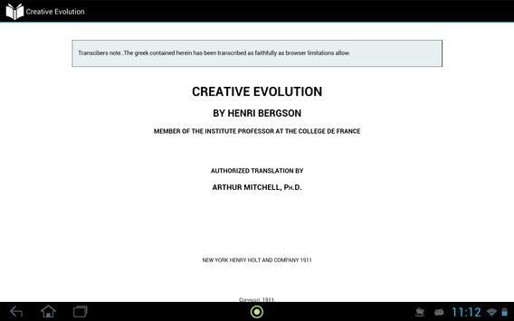 Creative Evolution apk screenshot