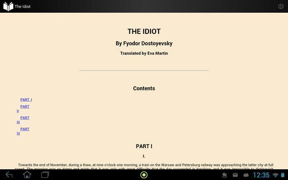 The Idiot apk screenshot