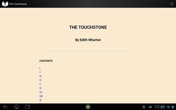 The Touchstone apk screenshot