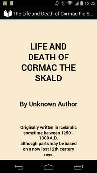Cormac the Skald poster