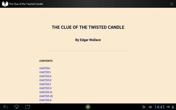 The Clue of the Twisted Candle apk screenshot