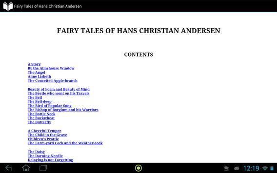 Fairy Tales of Andersen apk screenshot