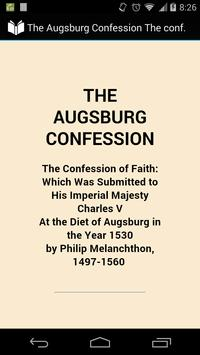 The Augsburg Confession poster