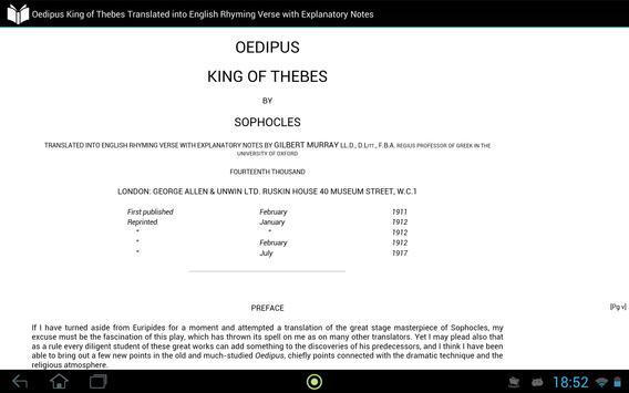 Oedipus King of Thebes apk screenshot