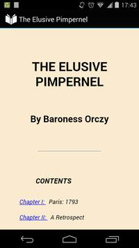 The Elusive Pimpernel poster