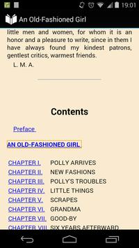 An Old-Fashioned Girl apk screenshot